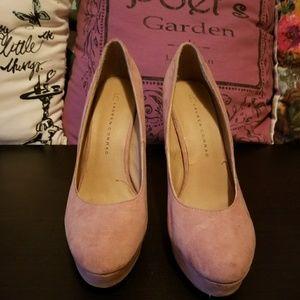 Lauten Conrad pink heels